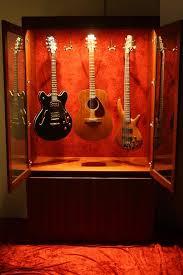 custom guitar cabinet makers guitar display cabinet comfortable cabinet design