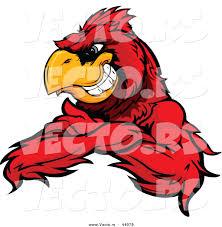 free cardinal mascot clipart 24