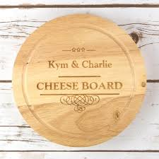 personalized cheese board set personalised cheese board set at toxicfox co uk