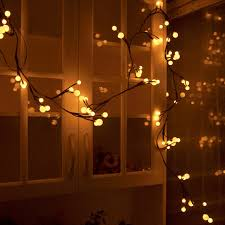 warm white string fairy lights 2 5m 72 led string fairy lights bendable warm white globe l with