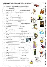 simple past positive and negative sentences regular verbs