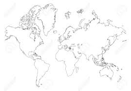 Blank Map Of Europe 1914 by Outline Map Of World Outline Map Of World Outline Map Of World