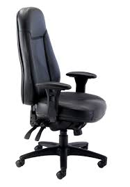 Leather Chairs Office Office Hippo 24 Hour High Back Office Chair With Arms Leather