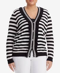 macy s ralph sweaters ralph plus size striped ruffle sweater sweaters