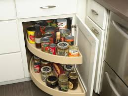 Lazy Susan Cabinets Pictures Options Tips  Ideas HGTV - Lazy susan kitchen cabinet hinges