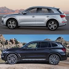 Audi Q5 8 Seater - photo comparison g01 bmw x3 xdrive30ivs audi q5 2 0t http www