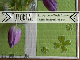 st patrick s day table runner table runner night quilter