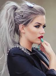 ponytail hairstyles for trendy ponytail hairstyles for girls 2017 hairstylesco