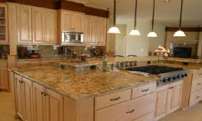 Kitchen With Maple Cabinets Granite Countertop Ikea Kitchen Cabinet Ideas Faux Backsplash