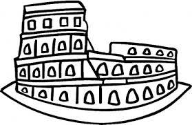 roman coloring pages coloring pages roman colosseum u2013 kids