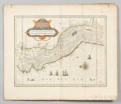 Map Of South And Central America by South And Central America Johannes U0026 Willem Blaeu Maps Of Brazil