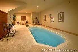 indoor swimming pools gatlinburg cabins with indoor swimming pools