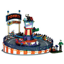 lemax spooky town lemax spooky town plane ride 64046 american sale