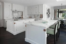 White Kitchen Cabinets With Copper Cup Pulls And Copper Sink - Copper kitchen cabinet hardware