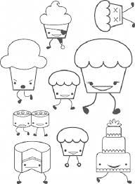print u0026 download cupcake pictures to print and color