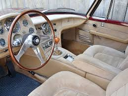maserati granturismo coupe interior 1963 maserati 5000 gt interior by frua my dream machines