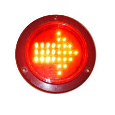 4 inch round led tail lights arrow 4 inch round piranha led 28 diodes truck trailer turn signal