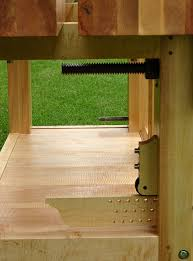 Woodworking Bench For Sale by Roubo Workbench Leg Vise Alternative Linear Bearings The Wood