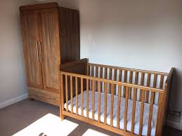 Cot Bed Nursery Furniture Sets by Nursery Furniture Kiddy Style Calgary Oak Set Cot Bed Baby