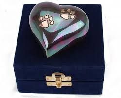keepsake items teal keepsake paw print heart urn mypetforlife pet care items