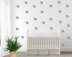 Wall Decals Kids Rooms by Woodland Wall Decal Etsy