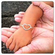 gold heart bangle bracelet images Gold heart bangle baby bracelet little girl jewelry baby jpg