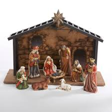 playmobil nativity stable with manger walmart