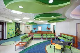 pediatric medical office interior design kleur in