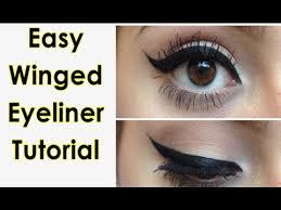 liquid eyeliner tutorial asian easy winged eyeliner tutorial step by step for beginners youtube