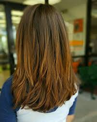 hairstyles with layered in back and longer on sides long choppy layers in back of long brunette hair hair