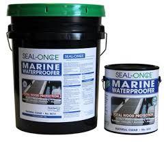 seal once marine waterproofing wood sealer envirosoy