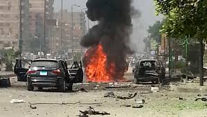Car Interior Smoke Bomb Egypt Terror Group From Sinai Claims Attack On Interior
