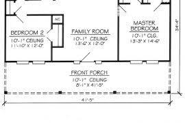two bedroom cottage floor plans two bedroom cottage floor plans homepeek