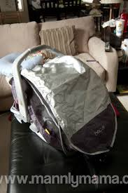 Universal Car Seat Canopy by Infant Car Seat Sun Cover Velcromag