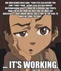 Boondocks Meme - huey freeman memes quickmeme