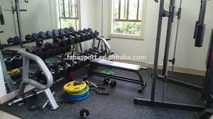 crossfit equipment gym floor epdm dots rubber mats classical gym