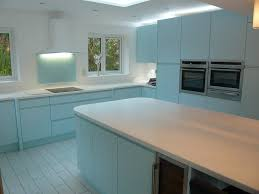 duck egg blue for kitchen cupboards ultima duck egg blue handle less kitchen modern kitchen