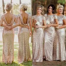 gold bridesmaid dresses chagne sequin bridesmaid dresses naf dresses