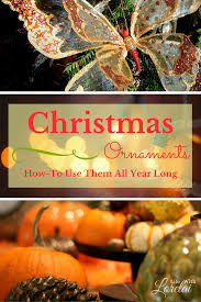 christmas ornaments how to use them all year long life with