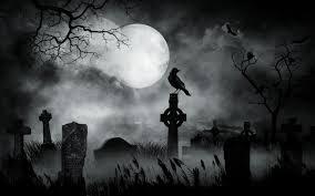 halloween graveyard background cemetery by vickie666 on deviantart