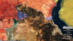 Isis Syria Map by Qasion News Agency Qasioun Map Syrian Regime Forces Advancing