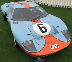 gulf gt40 ford gt40s flood the 2016 pebble beach concours u2013 karl on cars