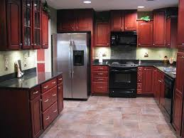 kitchen paint colors with natural cherry cabinets painting