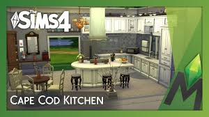 the sims 4 room building cape cod kitchen youtube