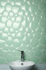 add color to your bathroom with creative tiles