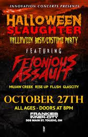 halloween slaughter innovation concerts