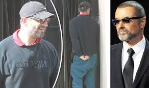 george michael u0027s boyfriend fadi fawaz smiles as he leaves star u0027s