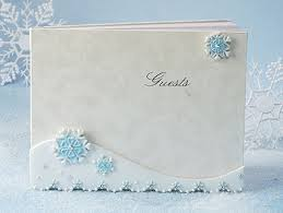 guestbooks for weddings cs gb snowflake 448 guestbook wf wedding guest books