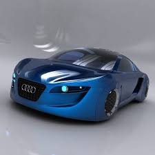 concept audi audi rsq concept 3d model cgtrader