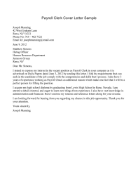Administrative Clerk Cover Letter 10 Best Images Of Cover Letter Examples For Clerical Positions